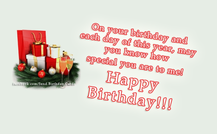 Happy Birthday!!! - Happy Birthday Cards, Images & Wishes