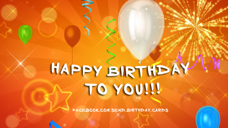 Birthday Cards Images | Happy Birthday to YOU!