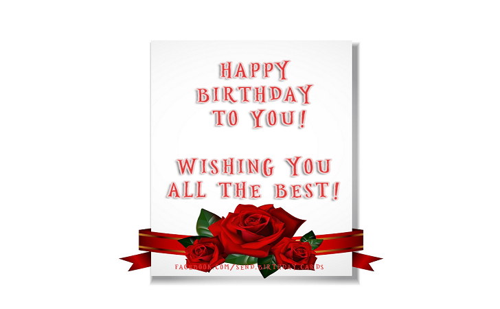 Happy Birthday to You!  Wishing you all the best! - Happy Birthday Cards, Images & Wishes