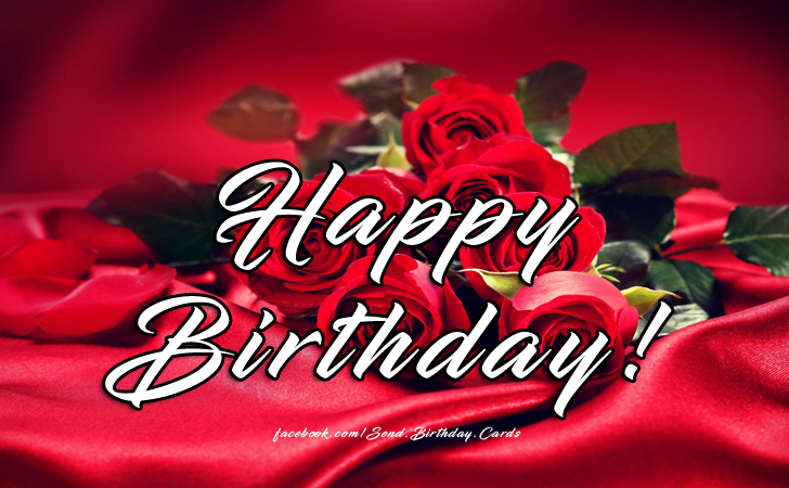 Happy Birthday - Happy Birthday Cards, Images & Wishes