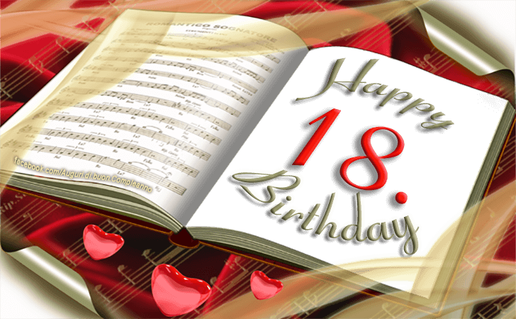 Birthday Cards Images | Happy 18th Birthday