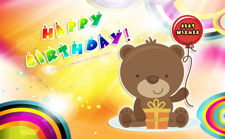 Happy Birthday - best wishes | Birthday Cards
