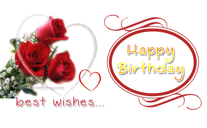 Happy Birthday - best wishes... - Birthday Cards, Happy Birthday Images