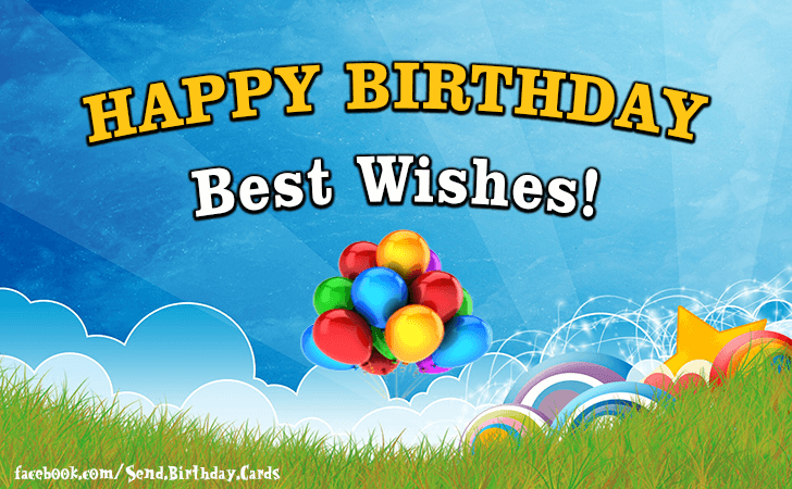 Happy Birthday Cards Images | Birthday Cards | Happy Birthday & Best Wishes!