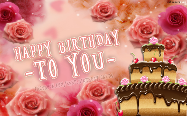 Happy Birthday to - YOU - - Birthday Cards, Happy Birthday Images