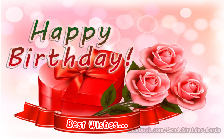 Happy Birthday Cards Images - Happy Birthday - best wishes...