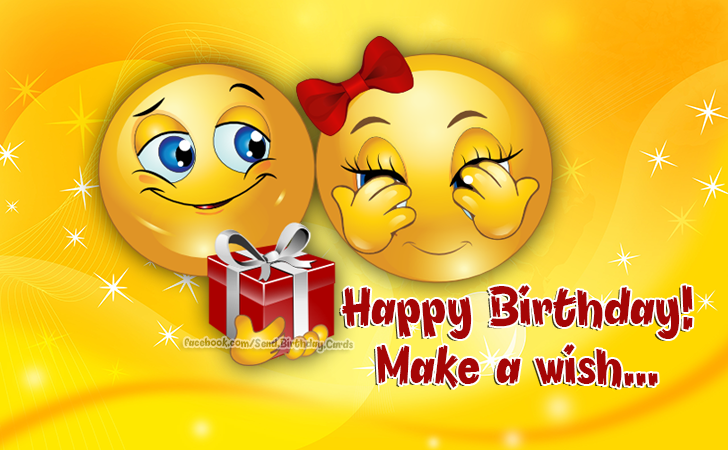 Happy Birthday! Make a wish... - Birthday Cards, Happy Birthday Images