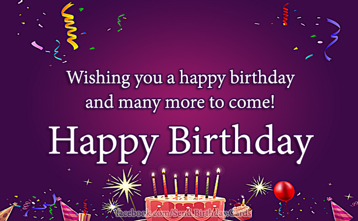 Birthday Cards Images | Happy Birthday