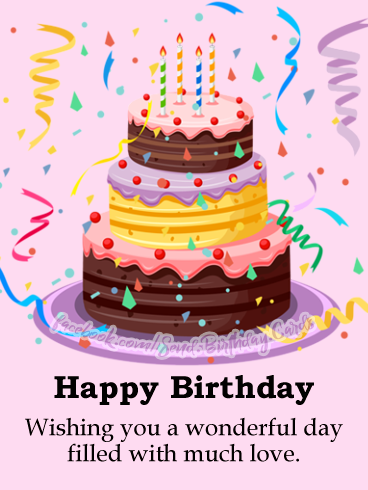 Happy Birthday - Happy Birthday Cards, Images & Wishes