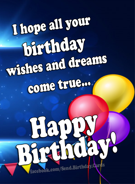 Happy Birthday (wishes & images) - Happy Birthday Cards, Images & Wishes