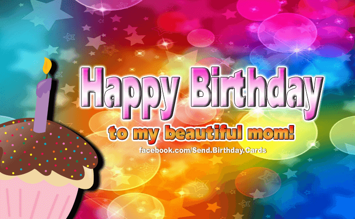Birthday Cards Images | Happy Birthday Mom!