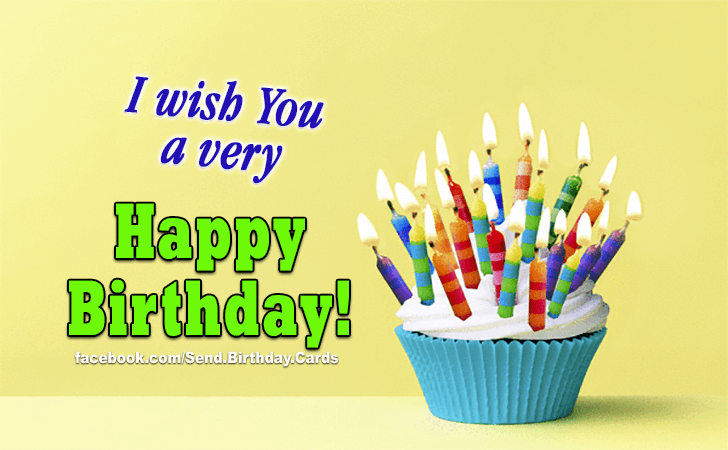Happy Birthday Cards Images - I Wish...