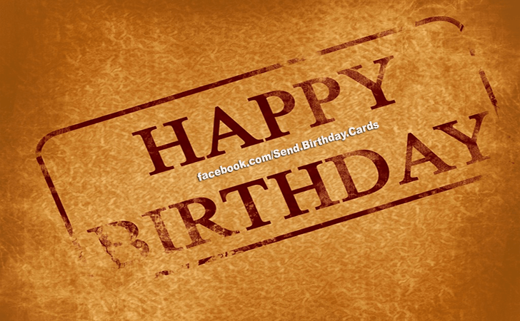 Happy Birthday Cards Images - I Wish You a...