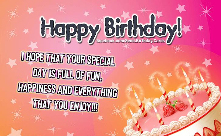 Happy Birthday Birthday Images Birthday Cards