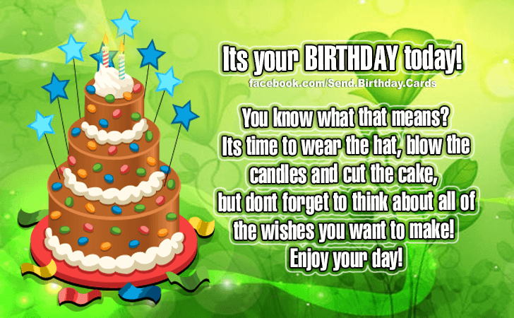 Happy Birthday Cards Images | Its Your Birthday!