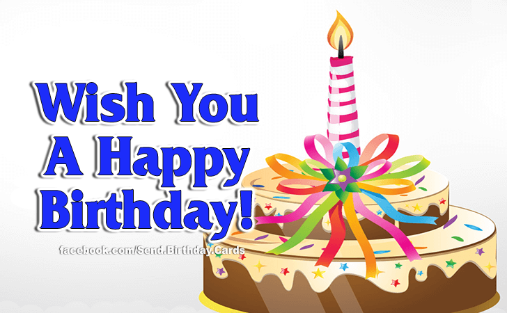 Happy Birthday Cards Images | I Wish...