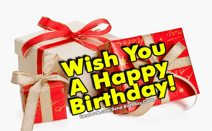 Happy Birthday Cards Images | I Wish You...