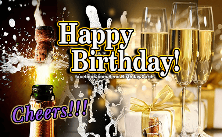 Cheers! - Birthday Cards, Happy Birthday Images