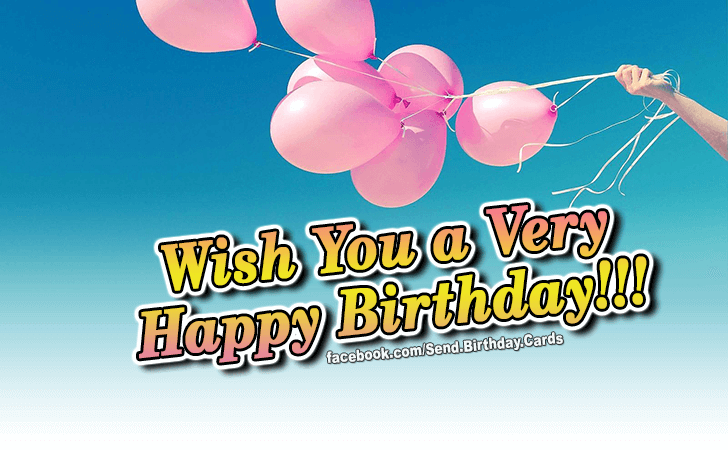 Wish You... - Birthday Cards, Happy Birthday Images