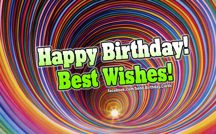 Happy Birthday Cards Images | Best wishes to you!