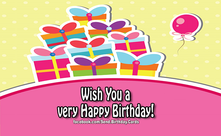 Happy Birthday Cards Images - Happy Birthday to You!