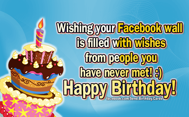 Happy Birthday Cards Images - Wishing your...