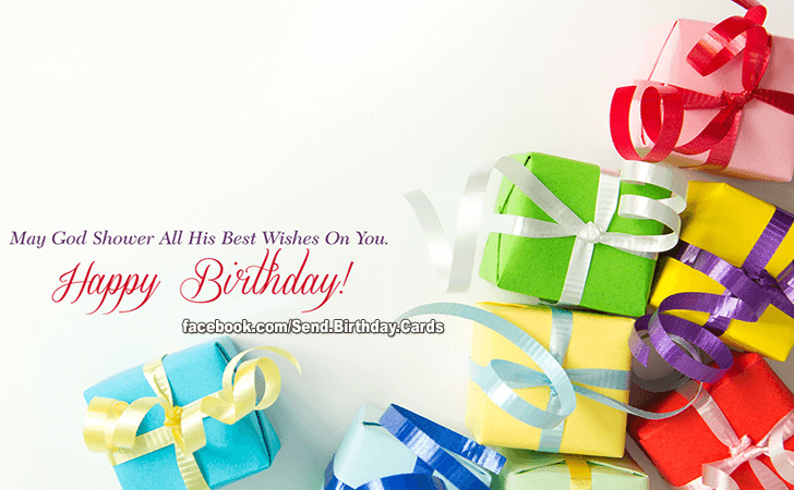 Birthday Cards Images | May God...