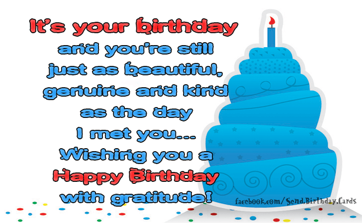 Happy Birthday Cards Images | Its your birthday...
