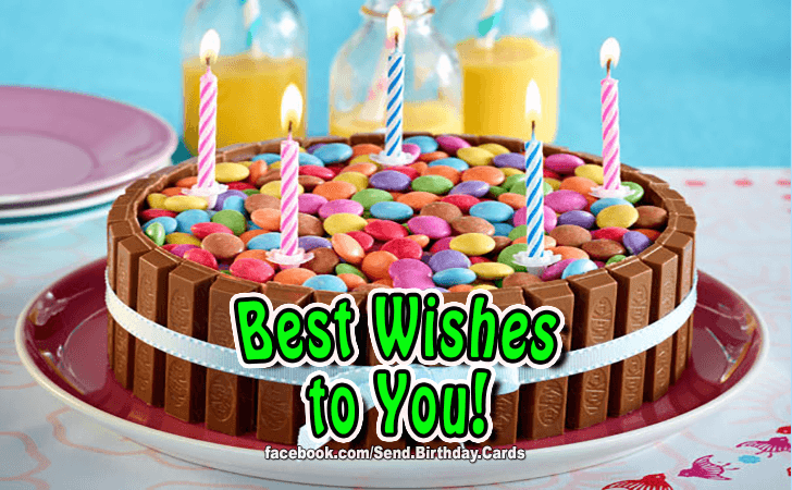 Happy Birthday Cards Images - Best wishes to you!