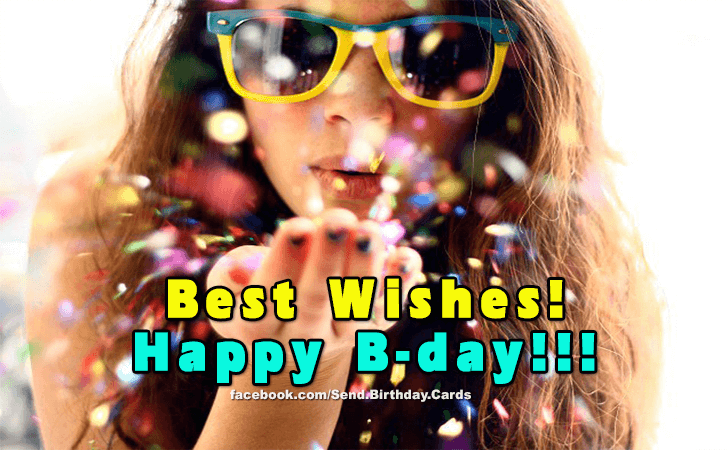Happy Birthday Cards Images - Best Wishes...