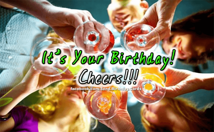 Birthday Cards | Cheers!