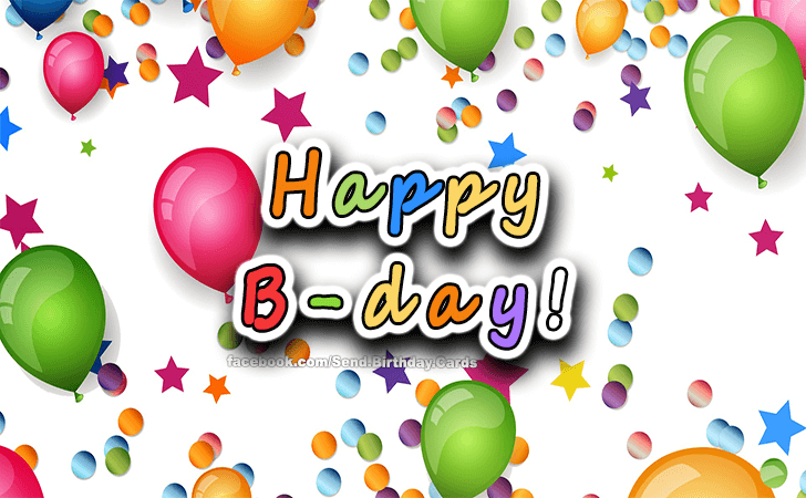 Happy Birthday Cards Images | Happy B-day!