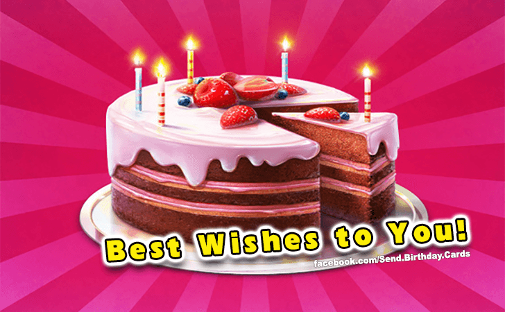 Happy Birthday Cards Images | Best Wishes!