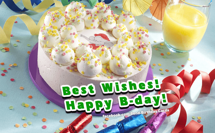 Happy Birthday Cards Images - Best Wishes!