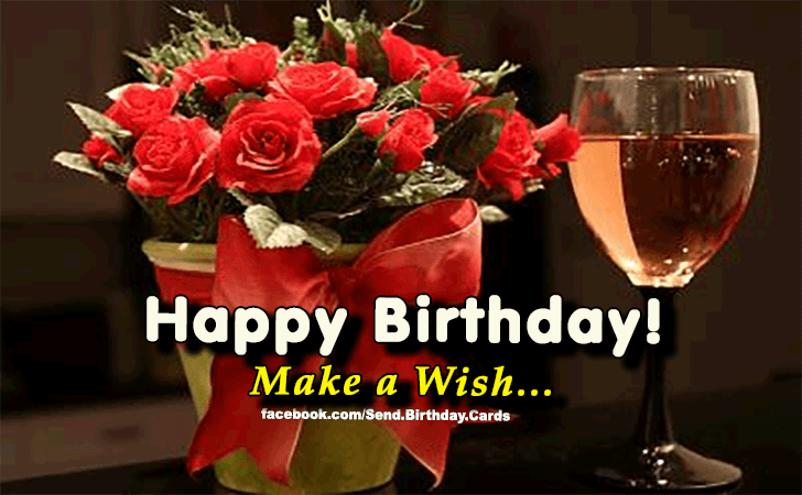 Happy Birthday Cards Images | Make a Wish...