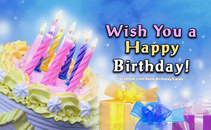 Happy Birthday Cards Images | Wish You a...