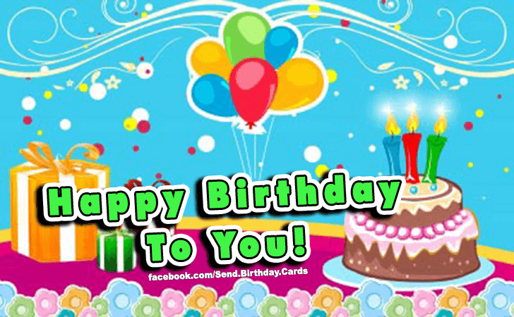 Happy Birthday Cards Images | To YOU!