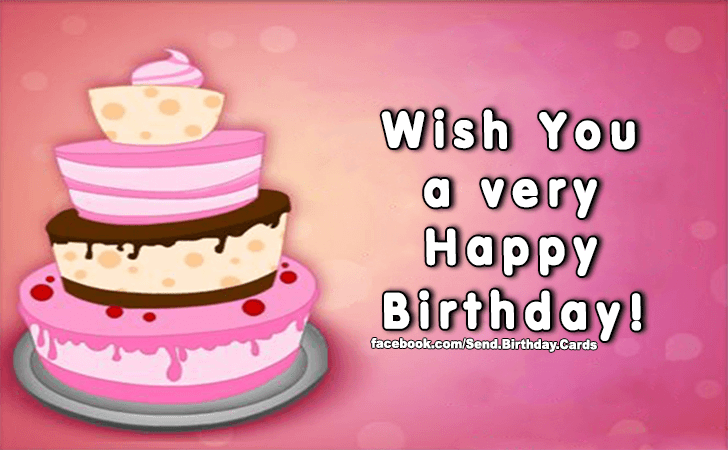 Happy Birthday Cards Images | Wish You...