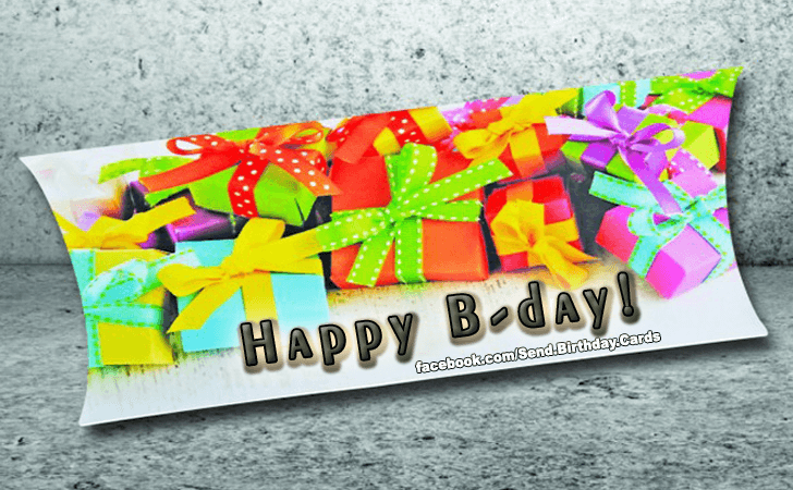 Birthday Cards | Happy B-day!