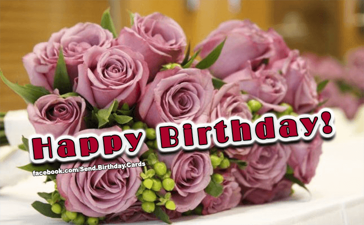 Happy Birthday! - Happy Birthday Cards, Images & Wishes