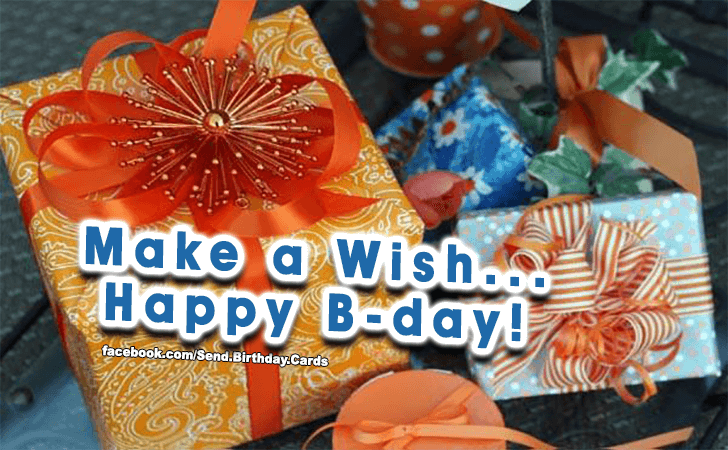 Make A Wish! - Happy Birthday Cards, Images & Wishes