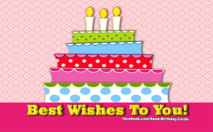 Birthday Cards | Best Wishes!