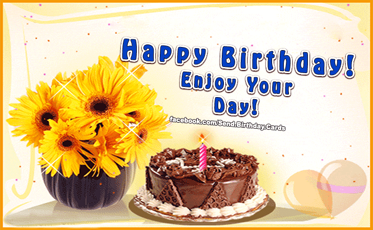 Birthday Cards | Enjoy your day...