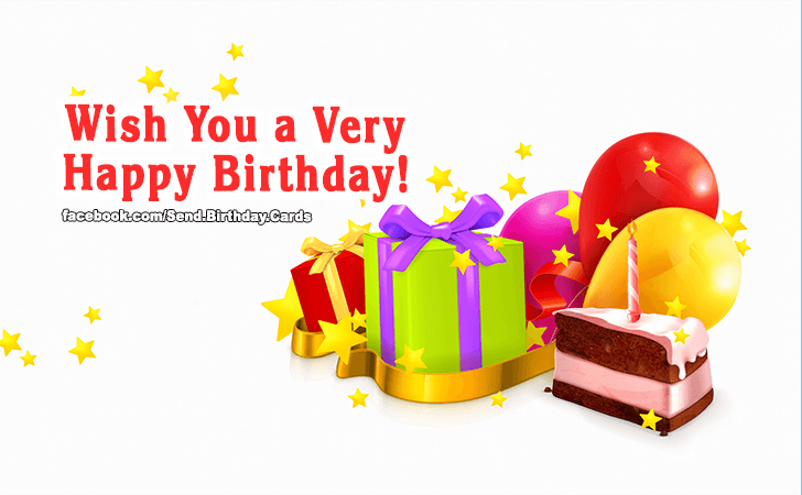Happy Birthday Cards Images - Wish You a Very Happy Birthday!