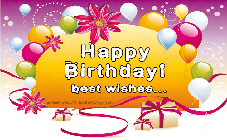Happy Birthday Cards Images - Happy Birthday...Best Wishes!