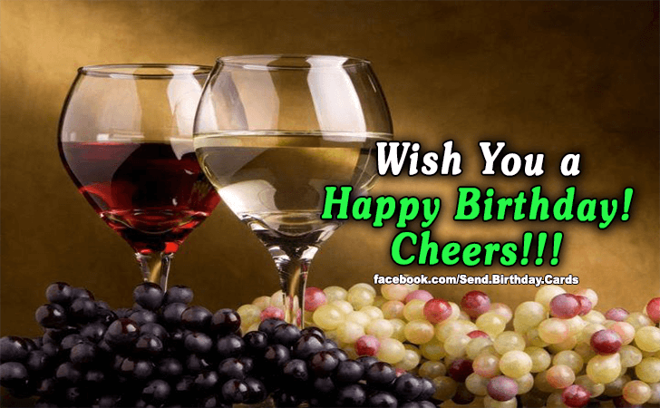 Birthday Cards | Cheers!!!