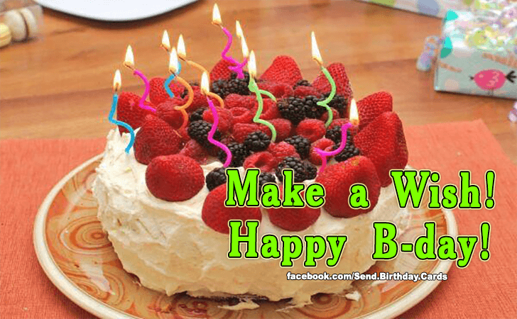 Happy Birthday Cards Images | Make a Wish!