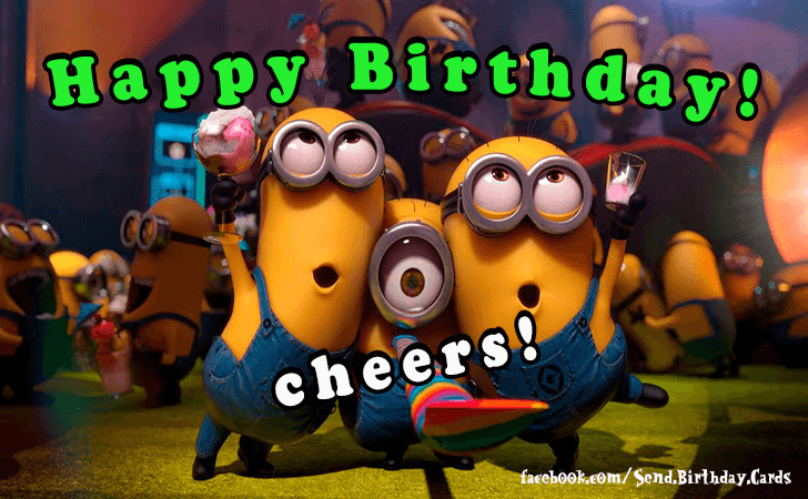 Happy Birthday Cards Images | Happy Birthday...cheers!