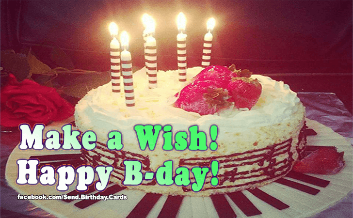 Birthday Cards Images | Make a Wish!