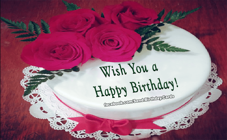 Birthday Cards Images | Wish You a Happy Birthday!